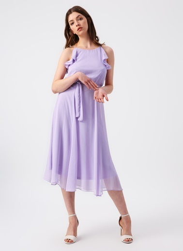 Random Elbise Lila
